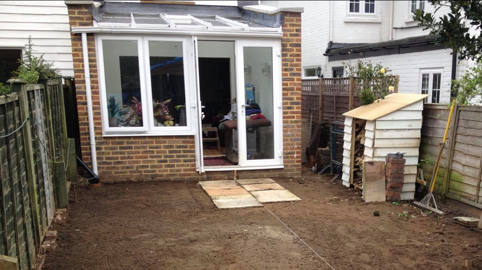 Conservatory in Dorking