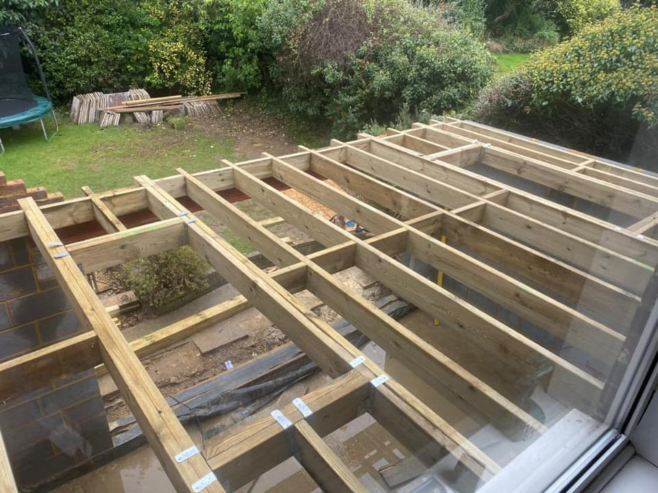Ashstead extension roof
