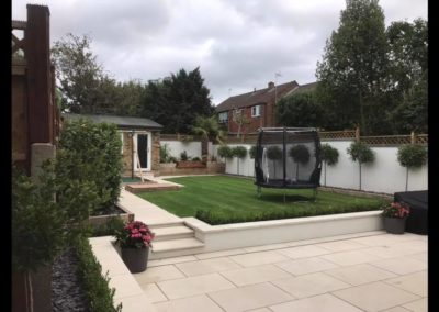 Garden landscaping in Uxbridge