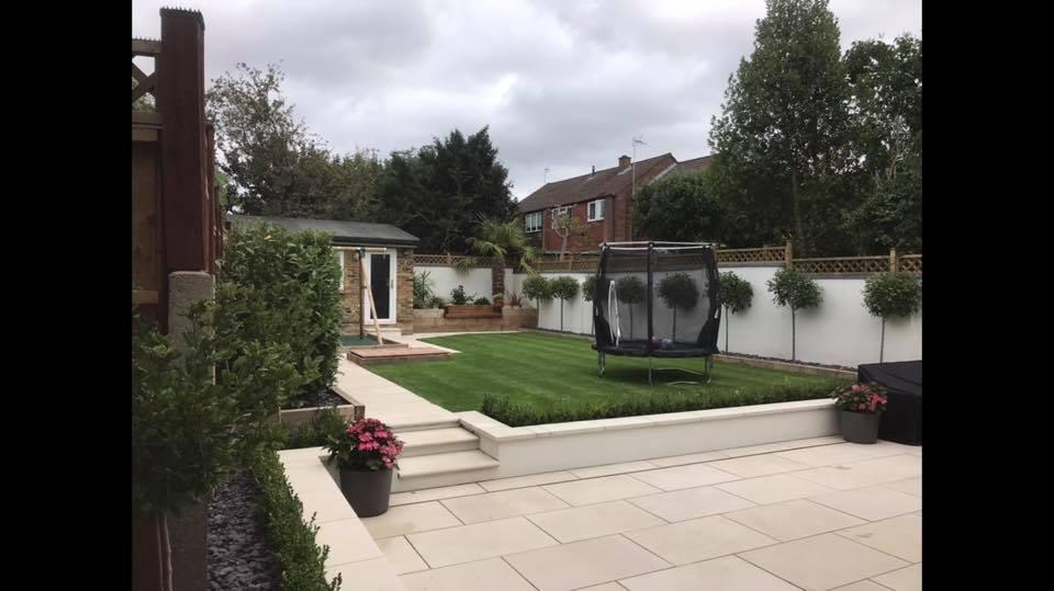 Garden landscaping in Uxbridge