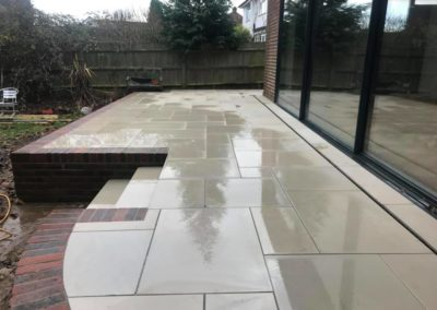 Sandstone Patio in Banstead
