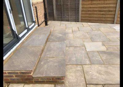 Sandstone Patio in Fetcham, Surrey