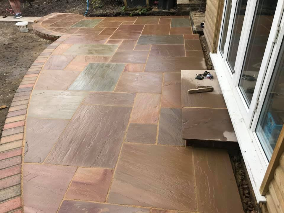 path and patio in Wokingham